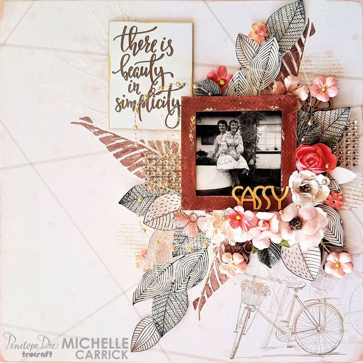 Single layout by Michelle Carrick