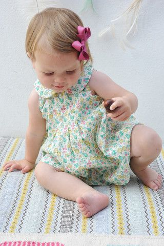 Olivier Baby & Kids - Liberty Hope Dress & Bloomers - BubbleChops - 1