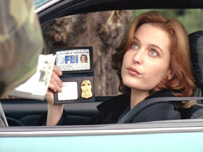 I'm Special Agent Dana Scully