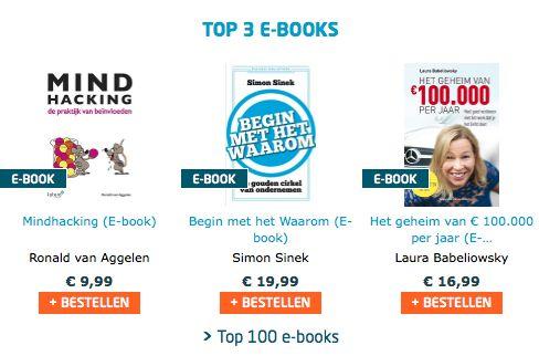 Het e-book 'Mindhacking, de praktijk van beïnvloeden' van Ronald van Aggelen op nummer 1 in de e-book TOP 100 van Managementboek. Gefeliciteerd Ronald! #mindhacking #ronaldvanaggelen #mgtboeknl #futurouitgevers