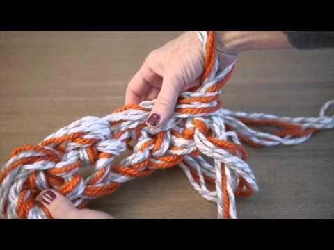 Arm Crochet Basics with @Vickie Hsieh Howell  #armcrochet