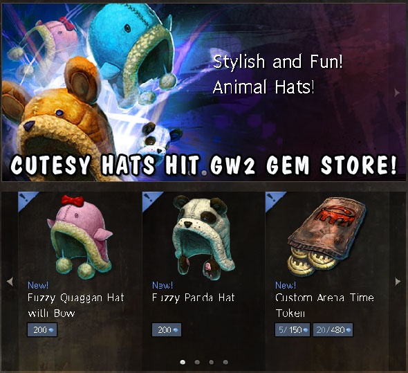 More New Outfit Items Hit the GW2 Gem Store