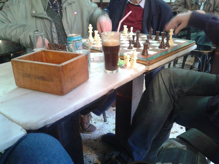 "https://flic.kr/p/DtaFMw | Φωτογραφία0233 | Chess players at ""Panellinion"" Cafe in Athens"