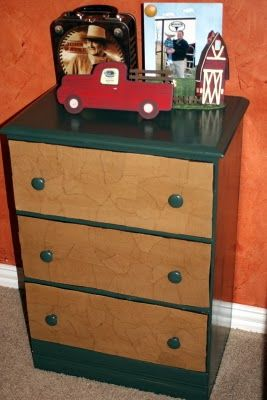 Greene Acres Hobby Farm: Brown Paper Bag Dresser