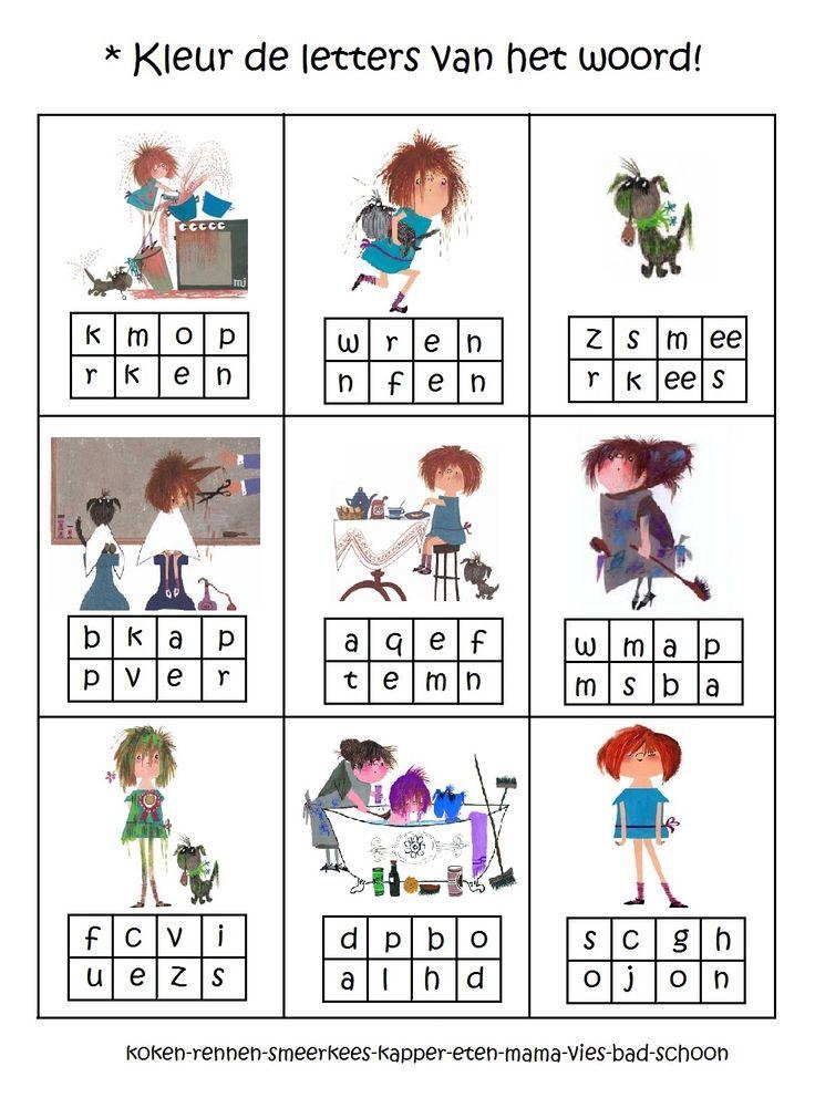 * Floddertje: Zoek de letters van het woord!