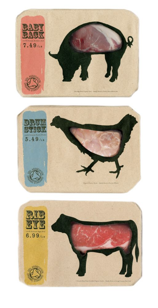 Butcher's by Kei Meguro at Coroflot.com. Another classic all time most popular #packaging pins #2014 top pin PD