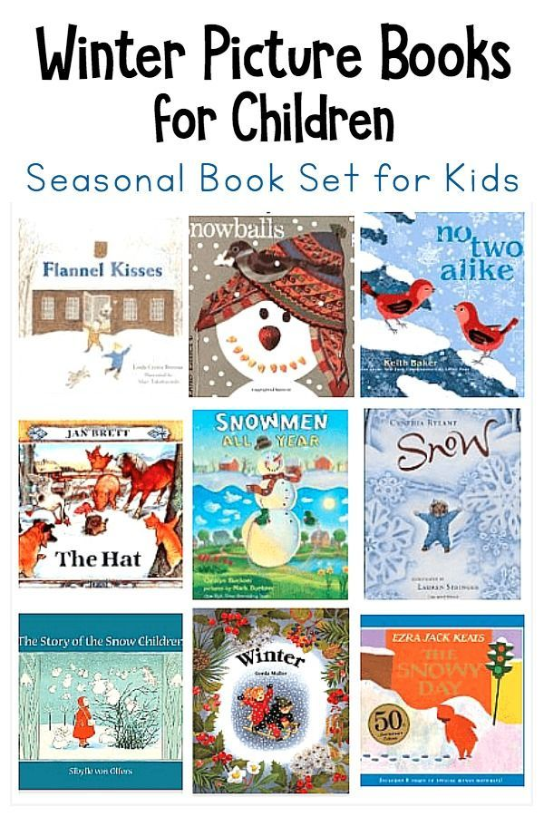 Winter Themed Children S Books Winter Crafts And Learning For Kids