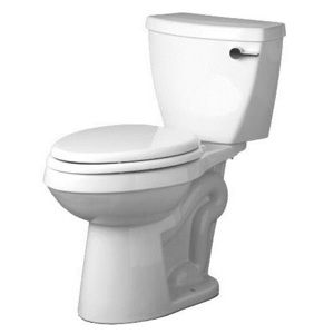 Ensuite & 2nd Bathroom // Mirabelle MIRBD230WH/MIRBD200RWH Bradenton Two Piece Toilet