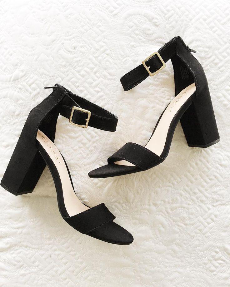 LC Lauren Conrad Runway Collection Block Heels