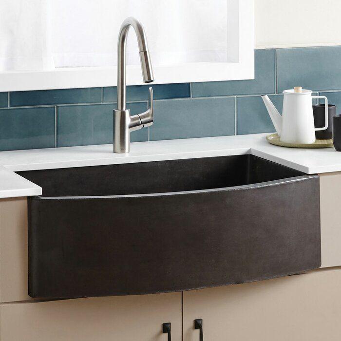 Farmhouse 33 X 36 Farmhouse Apron Kitchen Sink Apron Front Kitchen Sink Farmhouse Apron Kitchen Sinks Curved Kitchen