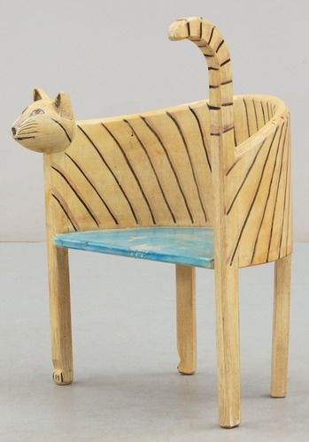 Cat Chair By Gerard Rigot