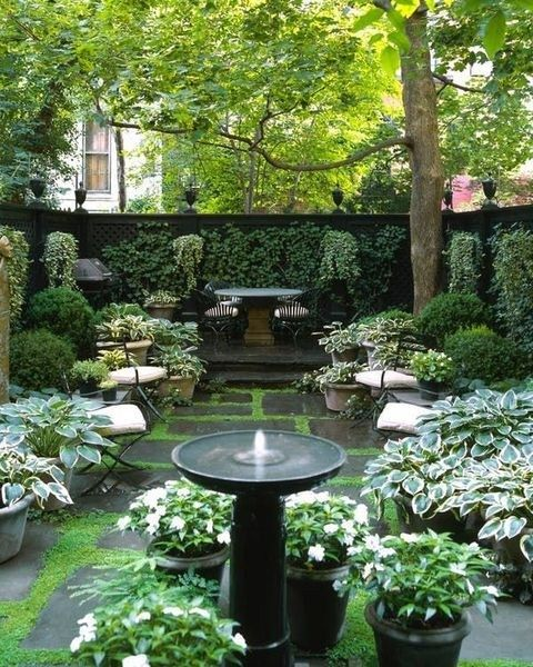 12 Great Ideas For A Modest Backyard: Cool Backyard Garden Ideas For Your Dream House 12
