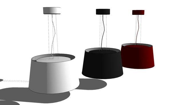 IKEA_Kulla_Pendant lamp - 3D Warehouse