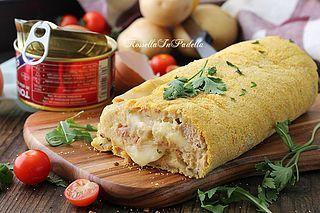 http://blog.giallozafferano.it/rossellainpadella/ Il Polpettone di tonno e patate, un gustosissimo secondo piatto semplice da preparare ed irresistibilmente buono. Un connubio di sapori eccezionale in