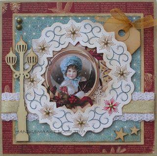 Trijntjes Kaarten: Kerstkaart week 38
