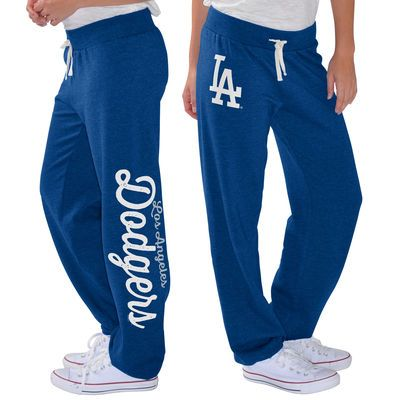 Women's G-III 4Her by Carl Banks Royal L.A. Dodgers Scrimmage Pants