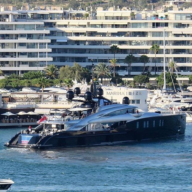 Mega Yacht 'OKTO' in Ibiza  - ( by @carolfeith)  via LUXURY LIFESTYLE MAGAZINE OFFICIAL INSTAGRAM - Luxury  Lifestyle  Culture  Travel  Tech  Gadgets  Jewelry  Cars  Gaming  Entertainment  Fitness