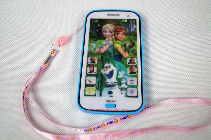 Smartfon zabawkja dla dzieci 4D Iphone Frozen Elsa