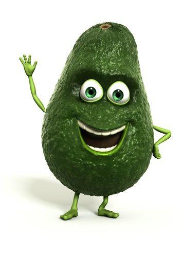 avocado cartoon pic | AVOCADO,CARTOON,WAVING,SMILING by ...