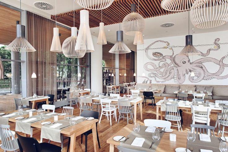 Hotel Sopot - Family restaurant in Sopot with a la carte lunch and dinner - Brasserie - Mera Hotel & Spa in Sopot beach in Poland