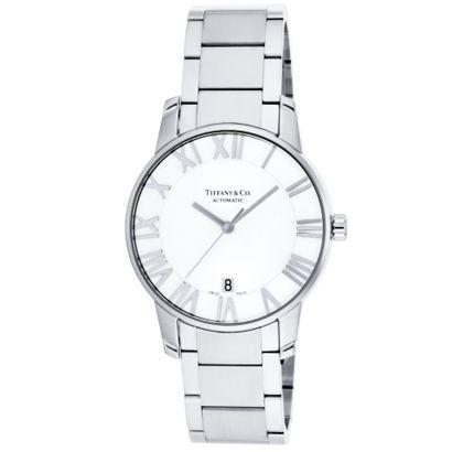 Tiffany Z1800.68.10A21A00A<br>ティファニー Atlas Domeメンズ腕時計<br>シルバー