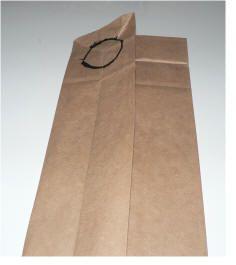 how to make a paper bag vest