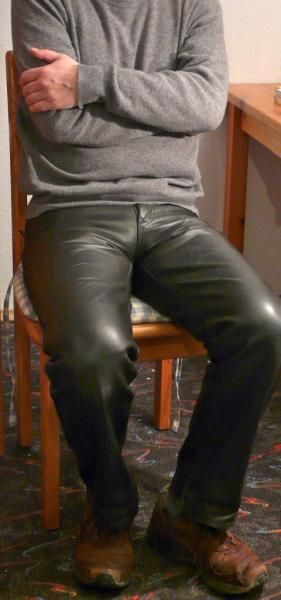 This is for supporting men who are wearing their leather pants. For men its a bit unusual wearing leather pants. We are confronted with some stereotypes while wearing them. It seems that for women its...