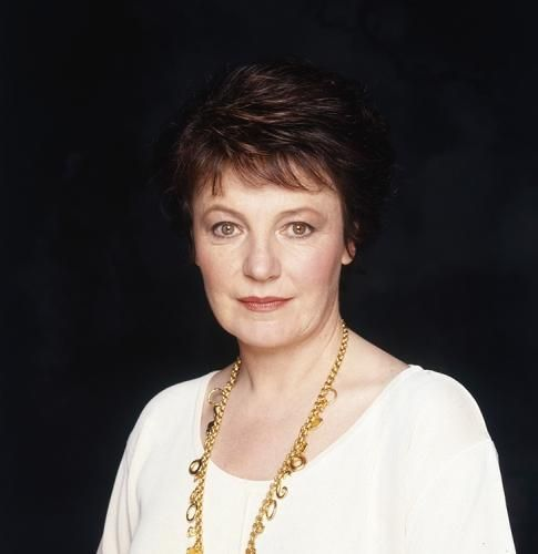 """Delia Smith Gold Necklace by Terry O'Neill   Popular British TV chef Delia Smith wearing a gold necklace, 1994.  Limited Edition C-Print Signed and Numbered  16"""" x 16"""" / 20"""" x 20""""  24"""" x 24"""" / 30"""" x 30""""  40"""" x 40"""" / 48"""" x 48"""" / 60"""" x 60"""" / 72"""" x 72""""  For questions or prices please contact us at info@igifa.com    IGI FINE ART"""