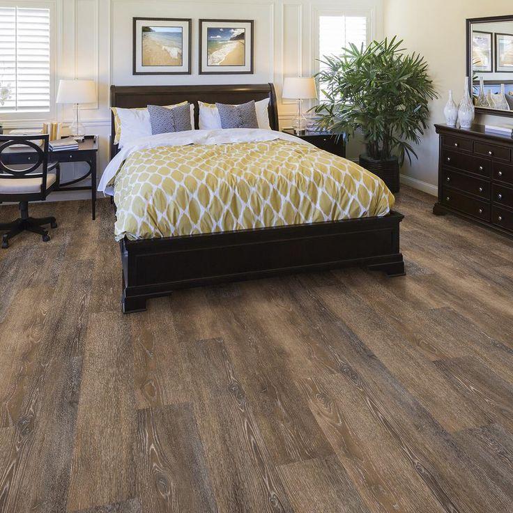 LifeProof Multi-Width x 47.6 in. Texas Oak Luxury Vinyl Plank Flooring (19.53 sq. ft. / case)-I127913L - The Home Depot