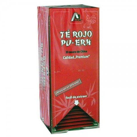 Té Rojo Pu Erh 25 filtros - Mussaplants