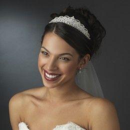 Bridal tiara Dina - Georgia Dristila Accs