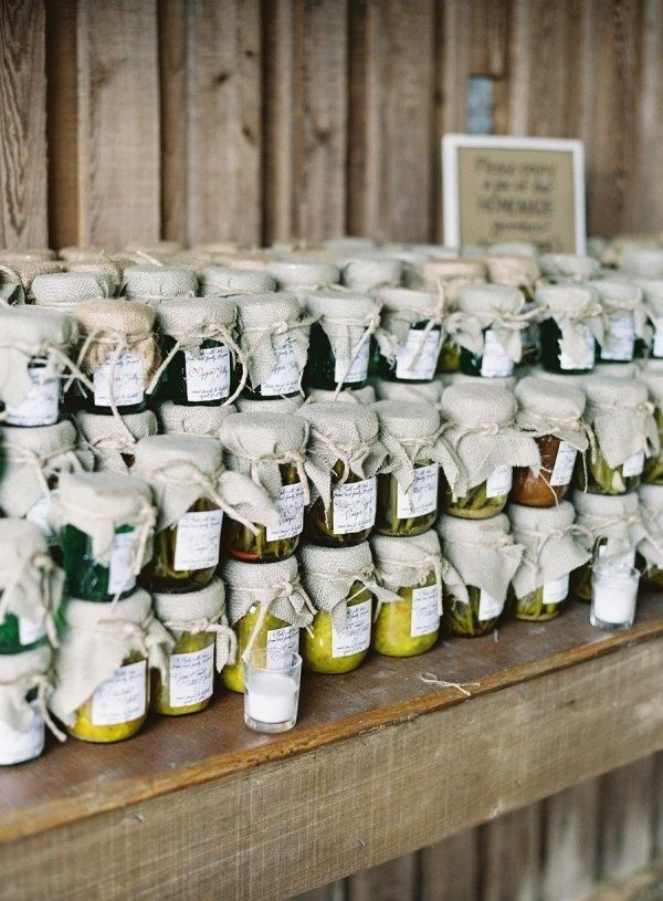 25 Best Ideas About Homemade Wedding Favors On Pinterest