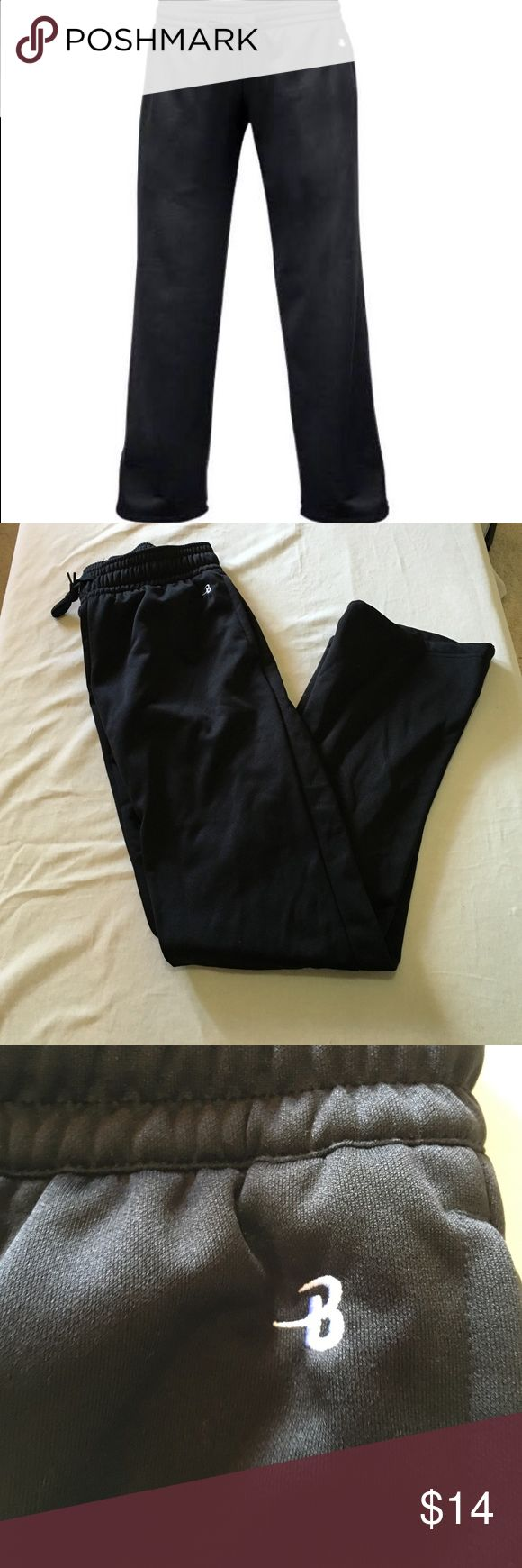 Badger sport black women's sweatpants These have never been worn and are in perfect condition. Badger sport Pants Track Pants & Joggers