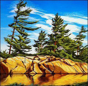 Margarethe Vanderpas - Fine Artist - Eastern Shores of Georgian Bay