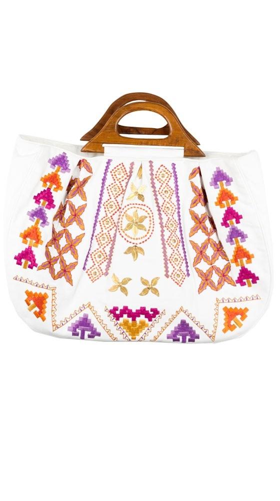 {Moroccan wood handled tote} by Moyna: Handbags Pur, All Pure, My Moroccan Wood, Moyna Large, Handles Totes, Moyna Handbags, Large Moroccan, Handbags Wallets, Wood Handles