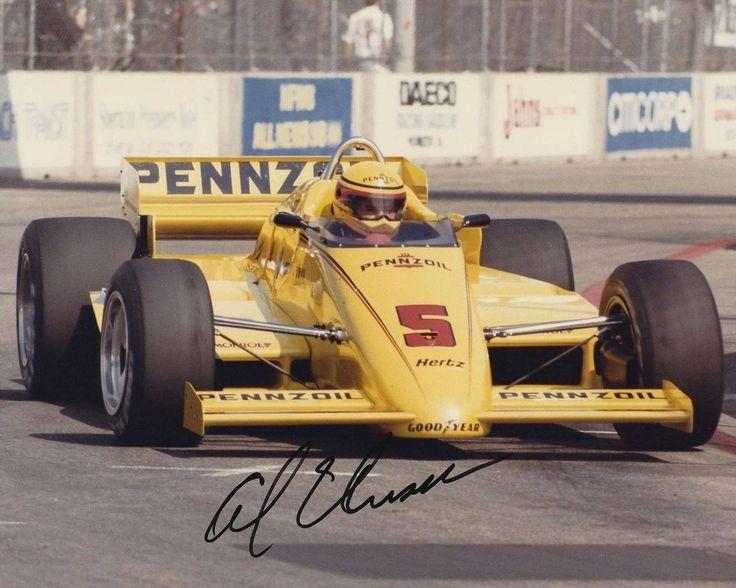 Da sostituto di Rick Mears, Al Unser (March 85C-Cosworth) fa suo anche il campionato 1985. pinterest.com