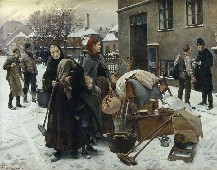 charles spencelayh - Evicted.