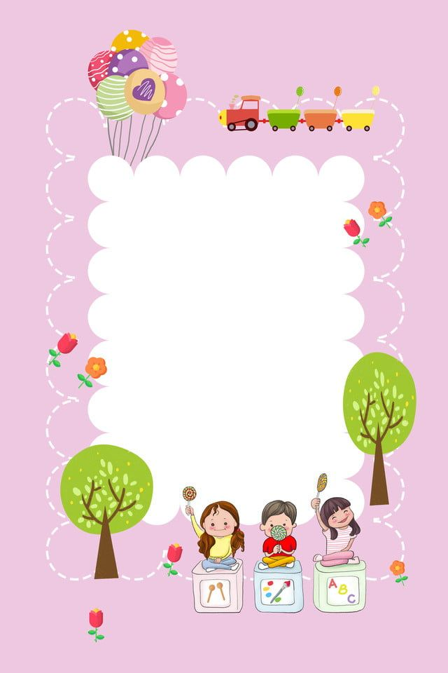 Cartoon Cute Kindergarten Kindergarten Teacher Recruitment Poster Background Material Drawing For Kids Kids Background Abstract Wallpaper Backgrounds