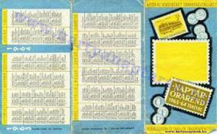 1963 - 1963_0110 - Régi magyar kártyanaptárak