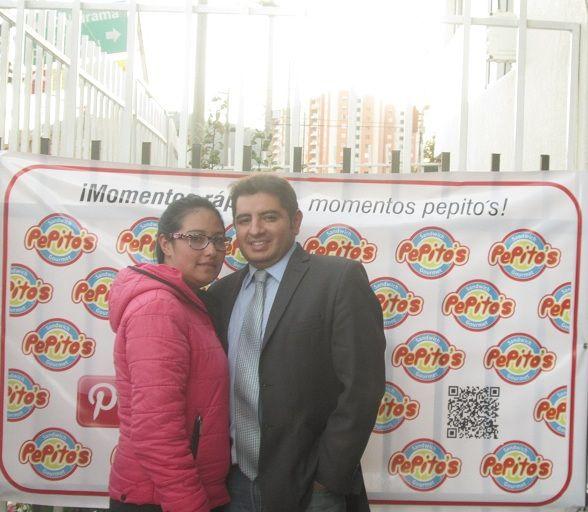 Maria Consuelo y Raul (Co-fundador de PEPITO`S)