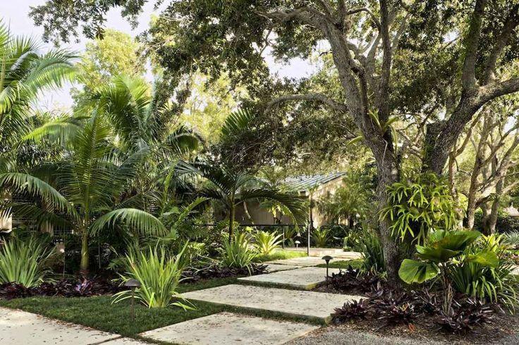 Modern tropical garden design ideas garden shed for Garden design pinterest
