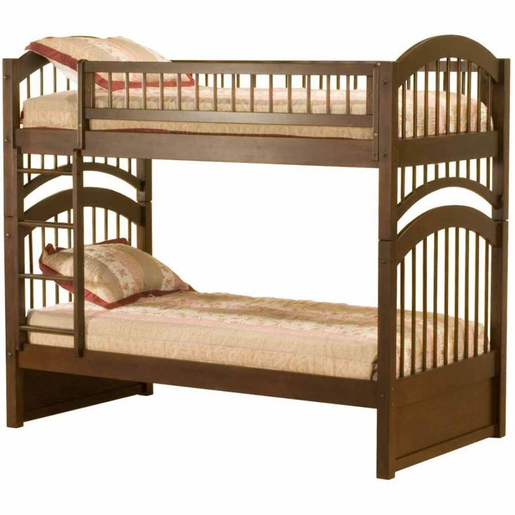 Antique Walnut Windsor Bunk Bed Twin Twin Ab57104 Atlantic Furniture Pinterest Beds