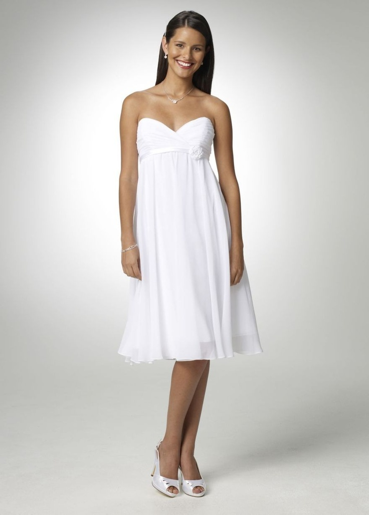 Short Chiffon Dress with Sweetheart Neckline Style BR1038