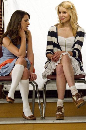 Quinn Fabray & Rachel berry
