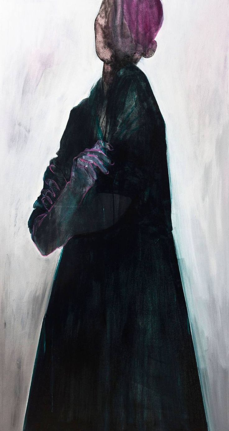 "Saatchi Art Artist Ewa Zwarycz; Painting, ""Figure"" #art"