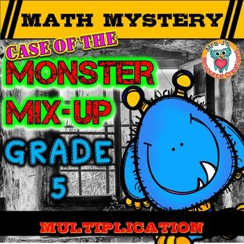 monster mysteries math worksheet answers fun math coloring worksheets mystery pictures color. Black Bedroom Furniture Sets. Home Design Ideas