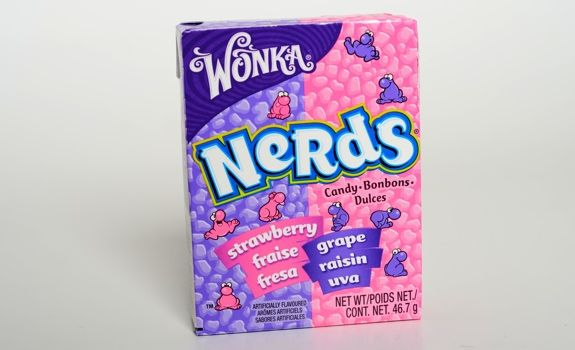 Nerds are a form of candy currently sold by Nestlé under their Willy Wonka Candy Company brand. Description from imgarcade.com. I searched for this on bing.com/images