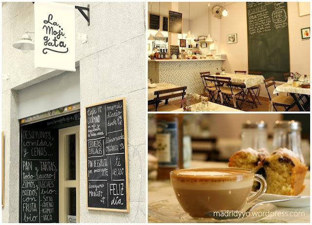La mojigata el lugar perfecto para desayunar y merendar - Decoracion vintage madrid ...