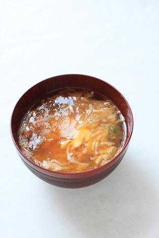 もやしとキムチとツナのお味噌汁。 by あいらさん   レシピブログ ...