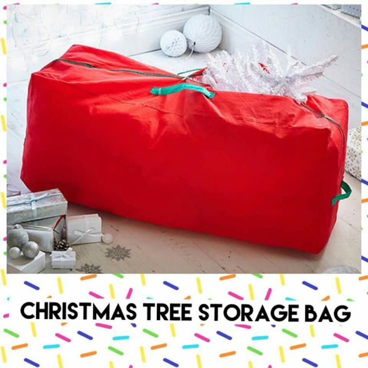 Large storage bag perfect for storing your Christmas tree and any other festive decorations. Easy fits 2.4m trees. £8